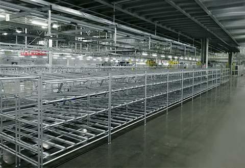 铝合金精益管型材货架