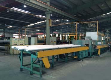 工业铝型材挤压生产线