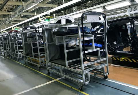 AGV物料输送小车