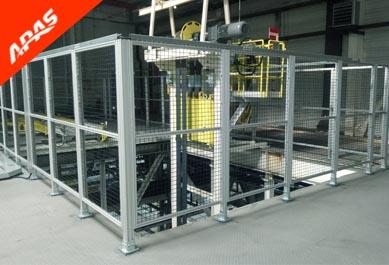 升降平台铝合金安全围栏