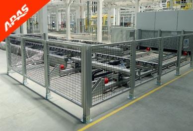 汽车总装线设备防护围栏